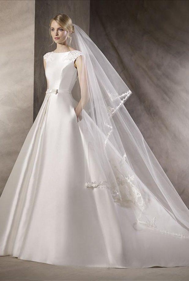 hedwing, vestido de boda-fiesta en madrid - el corte italiano