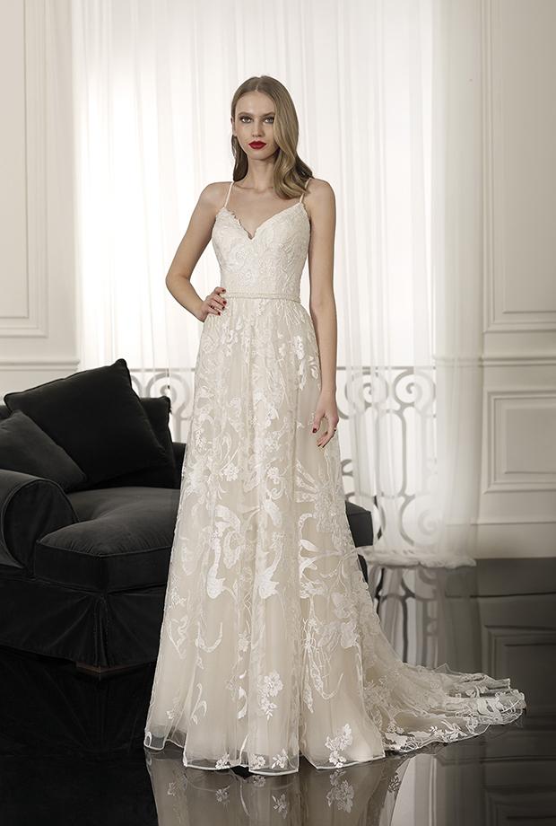 burdeos de cabotine, vestido de boda-fiesta en madrid - el corte