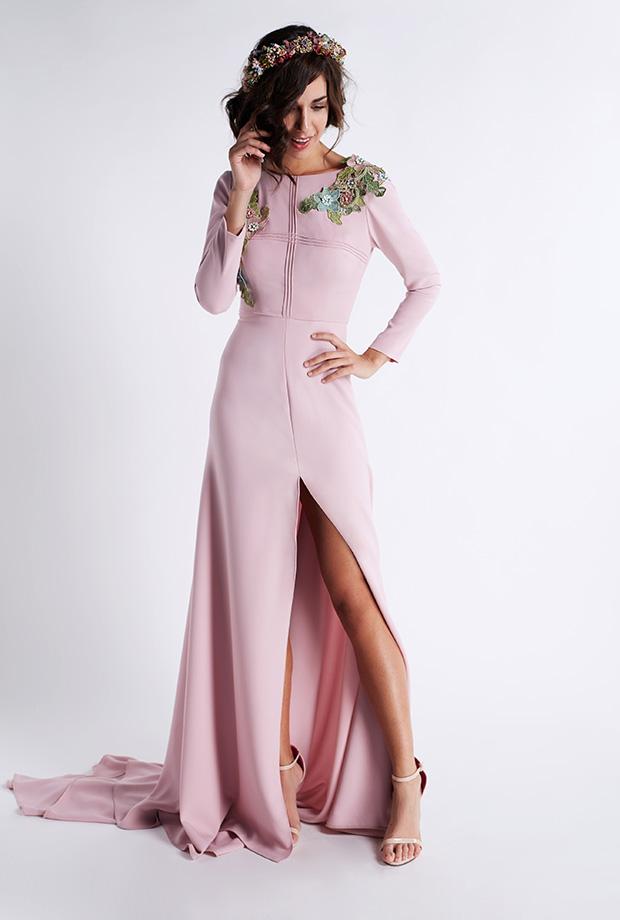 0bb22792e7 Vestido de fiesta de Matilde Cano modelo 5148