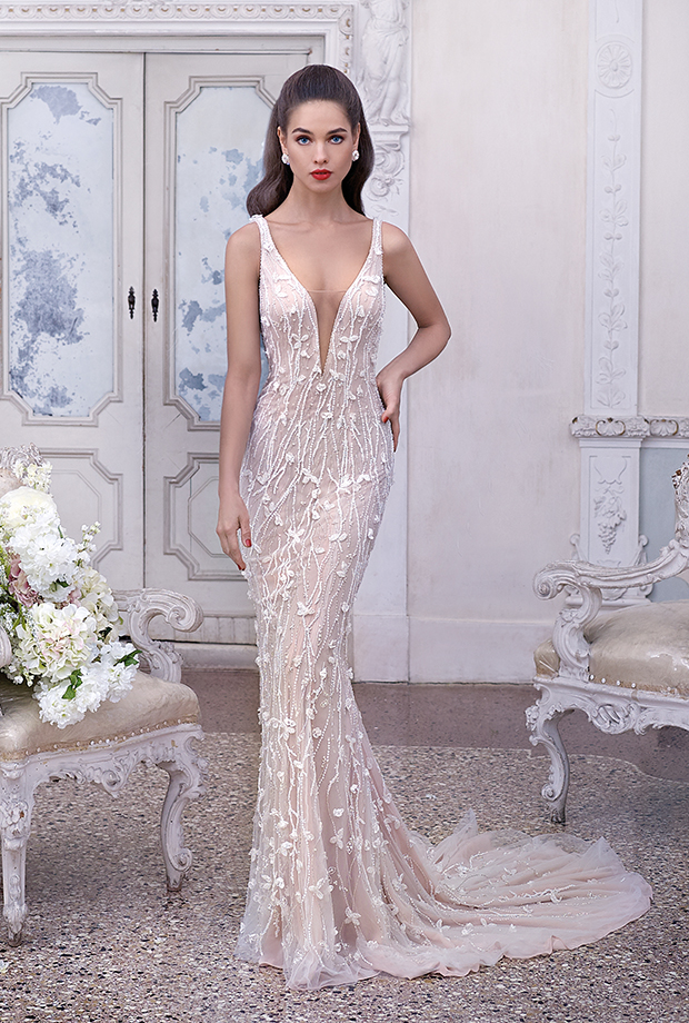 madeleine de platinumdemetrios, vestido de boda-fiesta en madrid
